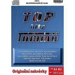 Různí, Top hity Tommü, CD pošetka
