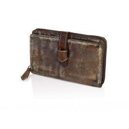 HJP Dámská kožená peněženka Metallic