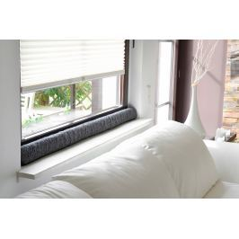 Okenní ochrana proti průvanu 120 cm, antracit