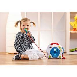 Dětský CD přehrávač se 2 mikrofony