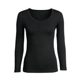 Tričko Basic s dlouhým rukávem černé, vel. XL