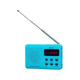 Přenosné rádio ECG R 155 U - modré
