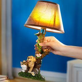 Stolní lampa Zvířecí přátelé
