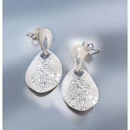 Stříbrná naušnice Amali