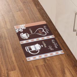 Kuchyňský kobereček Cafe, 46 x 75 cm