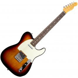 Fender Vintage '62 Telecaster w/Bound Edges, Rosewood Fingerboard, 3-Color Sunburst T-modely