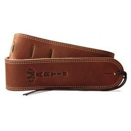 Martin 18A0012 Baseball Glove Leather Guitar Strap, Brown Kožené kytarové pásy
