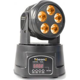 BeamZ Moving Head 5x18W RGBAW-UV LED DMX Otočné hlavy