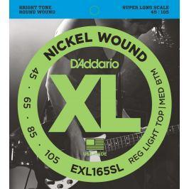 D'Addario EXL 165 SL Sady strun 045