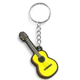 Musician Designer Music Key Chain Classical Guitar Reklamní a dárkové předměty