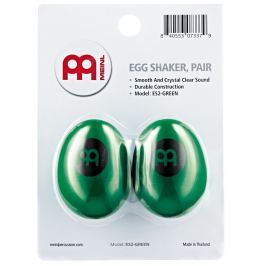 Meinl ES2-GREEN Plastic Egg Shakers Green