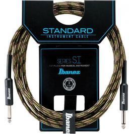 Ibanez SI20-CGR Woven Instrument Cable Camouflage Green