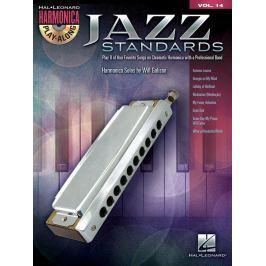 Hal Leonard Jazz Standards Harmonica Noty pro dechové nástroje