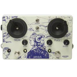 Walrus Audio Janus Fuzz/Tremolo with Joystick Control Overdrive / Distortion / Fuzz / Boost