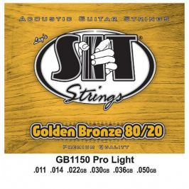 SIT Strings GB1150 Golden Bronze 80/20 Acoustic Pro Light