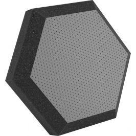 Ultimate UA-HX-12GR Hexagonal Foam Wall Panel 12'' Gray Vinyl Studiové akustické prvky