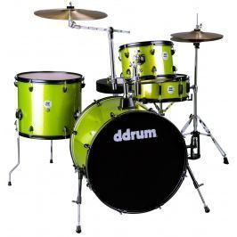 DDRUM D2 Rock Kit Lime Sparkle Bicí soupravy Rock 22-12-13-16
