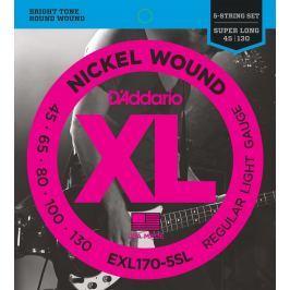 D'Addario EXL 170 5 SL 5-strunné sady