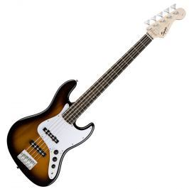 Fender Squier Affinity Jazz Bass V RW Brown Sunburst 5-strunné J-Bass