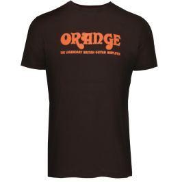 Orange Classic Brown T-Shirt Large