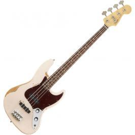Fender Flea Jazz Bass, Rosewood Fingerboard, Roadworn Shell Pink