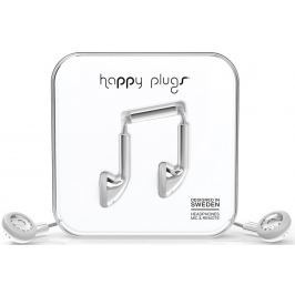 Happy Plugs Earbud Silver Deluxe Edition