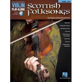 Hal Leonard Scottish Folksongs Violin Noty pro smyčcové nástroje