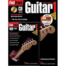Hal Leonard FastTrack - Guitar Method - Starter Pack Noty pro kytary a baskytary