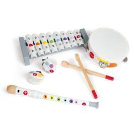 Janod Confetti Musical Set Dětské perkuse a perkusní sady