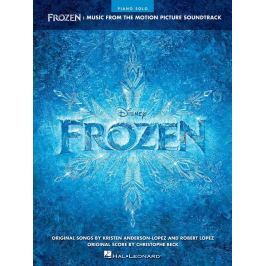 Hal Leonard Frozen Piano Music from the Motion Picture Soundtrack Noty pro klávesové nástroje