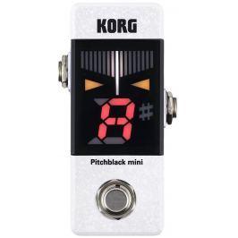 Korg Pitchblack mini White Pedálové ladičky