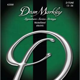 Dean Markley 2500 D-TUNE 13-56 NickelSteel Electric Struny pro elektrickou kytaru .013