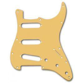 Fender Modern Strat SSS Pickguard Gold Anodized Kytarové díly - ostatní