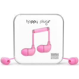 Happy Plugs In-Ear Pink Malá sluchátka do uší