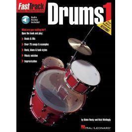 Hal Leonard FastTrack - Drums Method 1 Noty pro bicí nástroje a perkuse