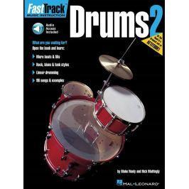 Hal Leonard FastTrack - Drums Method 2 Noty pro bicí nástroje a perkuse