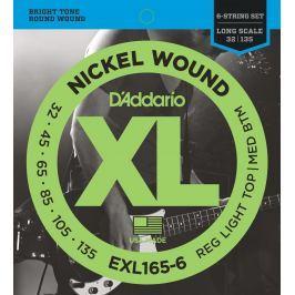 D'Addario EXL 165 6 6-strunné sady