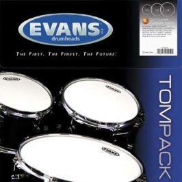 Evans EC2 Clear Tom Pack-Rock (10'', 12'', 16'')