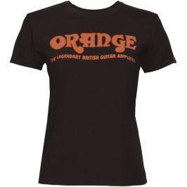 Orange Classic Ladies Brown Orange T-Shirt Medium