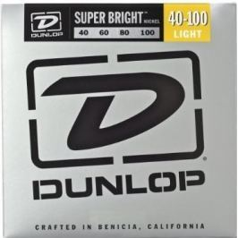 Dunlop DBSBN40100 Nickel Plated Bass Guitar Strings, Light