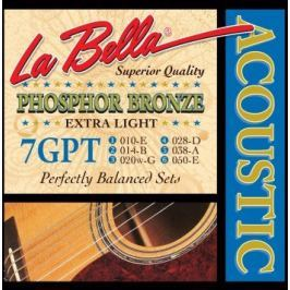 LaBella 7GPT Phosphor Bronze – Extra Light