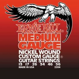 Ernie Ball 2204 Medium Electric Nickel Wound