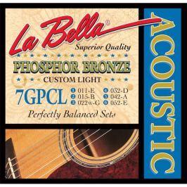 LaBella 7GPCL Phosphor Bronze – Custom Light