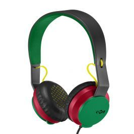 House of Marley Roar On-Ear Headphones with Mic Rasta
