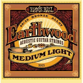 Ernie Ball 2003 Earthwood Medium Light