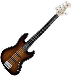 Fender Squier Deluxe Jazz Bass V Active EB 3-Color Sunburst