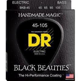 DR Strings EXBK-45 Black Beauties