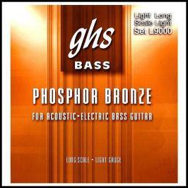 GHS Acoustic-Electr Bass Lt 040-096