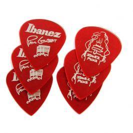 Ibanez 1000PG-CA Paul Gilbert Pick Set of 6 Red