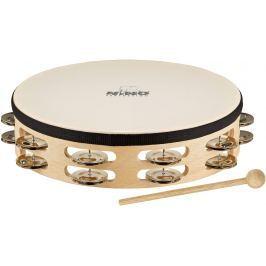Nino NINO26 Headed Wood tambourine 10